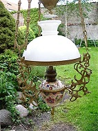 Majolika lamp 