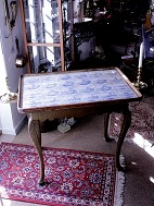 Rococo tile table 