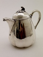 Silver jug with 