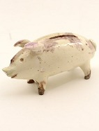 Pottery pig as 