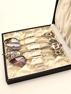 Set of 4 silver 