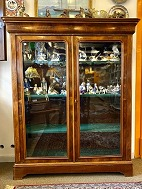 Mahogany display 