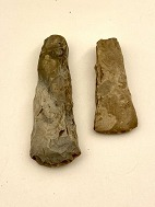 Flint stones axes 