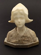 Young girl bust of 